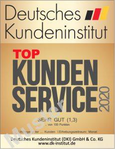 Das Deutsche Kundeninstitut (DKI) besiegelt herausragende Leistungen der Service- und Beratungsqualität